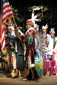 native american powwow exhibit